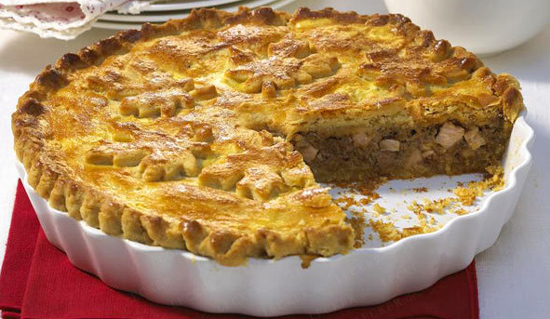 tourtiere Tourtiere   Quebec Meat Pie